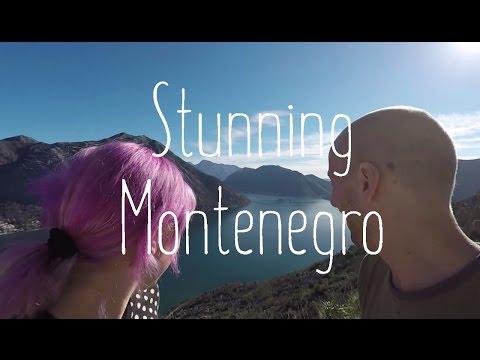 Entering stunning Montenegro