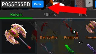 HOW TO GET A FREE POSSESSED AXE! (Roblox Assassin)