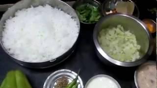 Gooseberry#rice#launch box recipe# koottu#