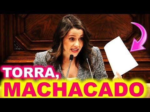 "⚡️BRAVO⚡️ Inés ARRIMADAS ""ARRUINA"" la INVESTIDURA a Quim TORRA sacándole su BAZOFIA ""XE-NÓ-FO-BA"" thumbnail"