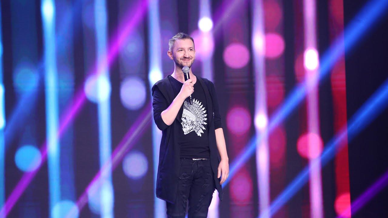 """Paul Mirea și glumele lui scurte revin în semifinala iUmor: """"2019 a fost anul moaștelor!"""""""