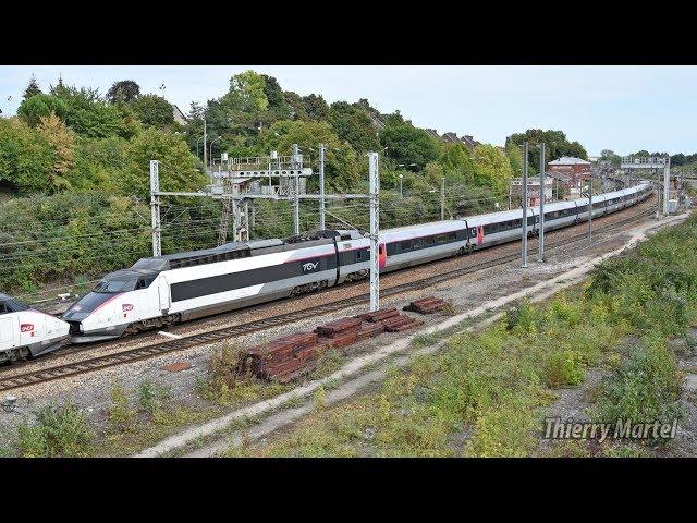 TGV Sud-Est - rame n° 40 et 01