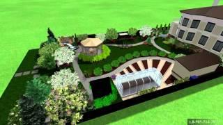 видео Ландшафтный дизайн дачного участка