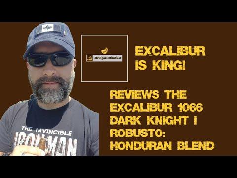 MrCigarEnthusiast Reviews The Excalibur 1066 Dark Knight I Robusto By Hoyo De Monterrey - Honduran B