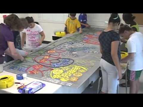 Mosaic Mural Project: Kensington Parkwood Elementary School