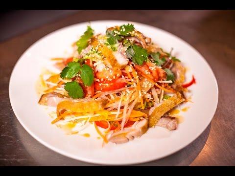 Романтический ужин салат из курицы и свежих овощей без регистрации и смс