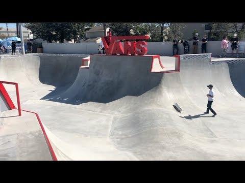 VANS SKATEPARK GRAND OPENING Huntington Beach, CA