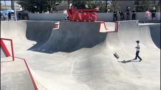 VANS SKATEPARK GRAND OPENING Huntington Beach, CA