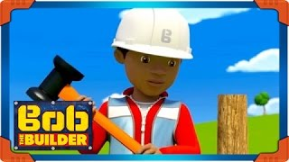 How To Build A Fence | Learn With Leo | Bob The Builder