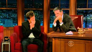 Kevin Bacon Wins Craig Ferguson Golden Mouth Organ