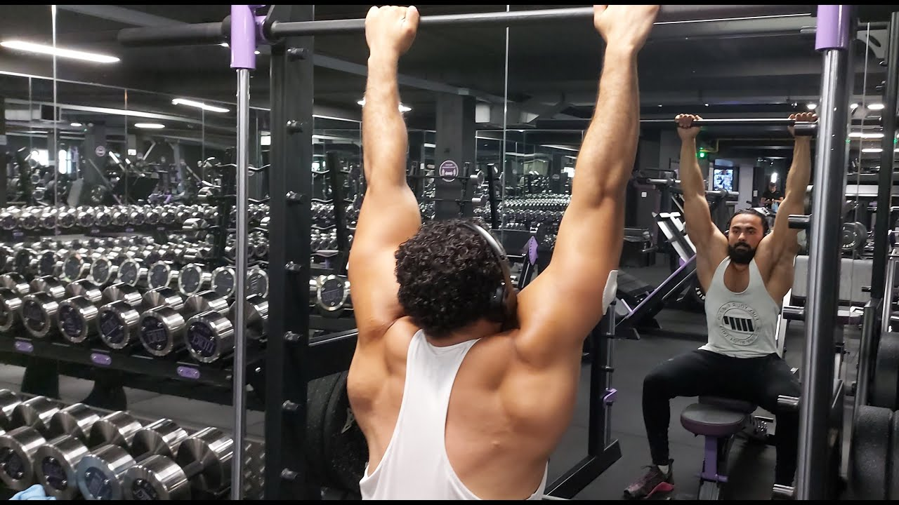 LOCK DOWN 2.0 / CHEST & BACK WORKOOUT