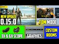 PUBG Mobile Lite New Update 0 15 0 Beta Download  New TDM Mode, 6x, 3x Scope and More