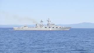 Операция по сопровождению отряда кораблей ТОФ в рамках маневров «Восток-2018»