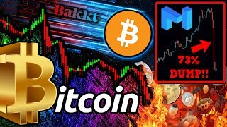 BITCOIN PRICE STILL FALLING!? MATIC DUMPS 73%!! Is the BULL Market OVER?