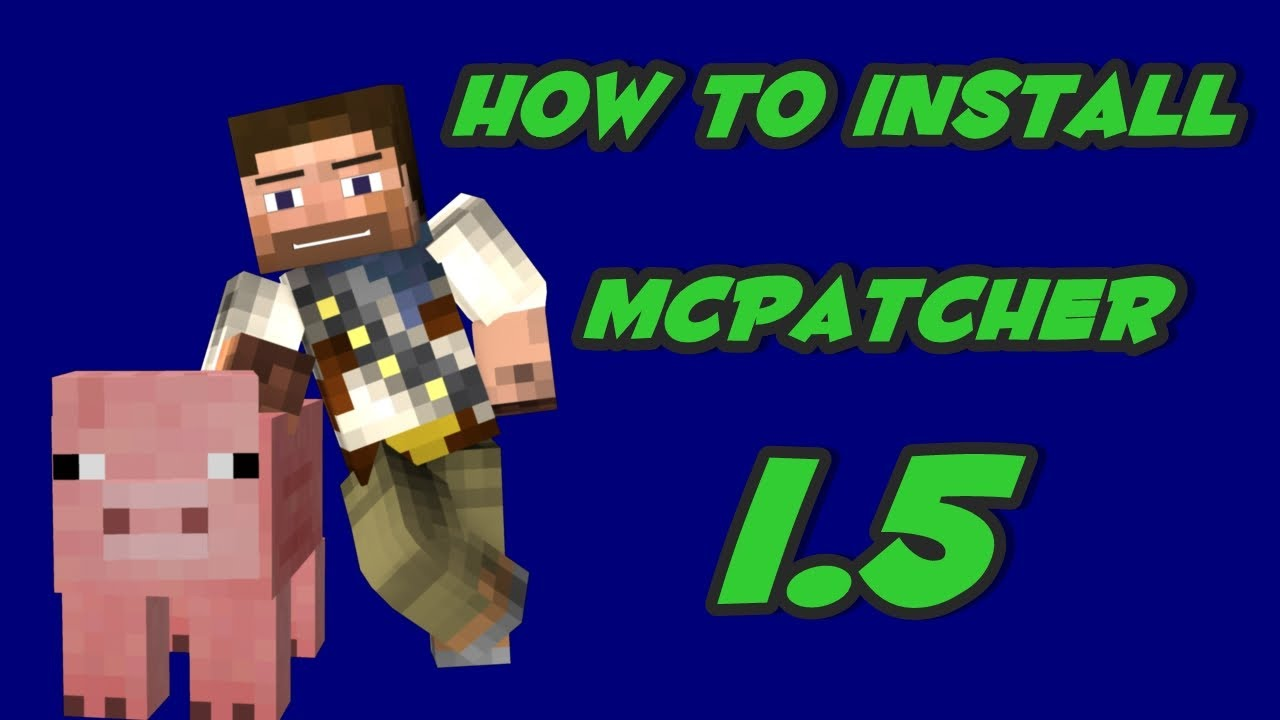minecraft mcpatcher 1.5.2