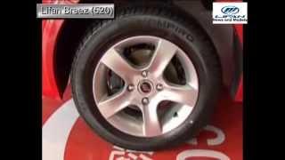 Обзор нового Lifan Breez 520 Лифан Бриз (двигатель, интерьер салон, экстерьер))