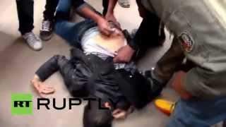 Egypt: Clashes erupt in Cairo anti-government protest