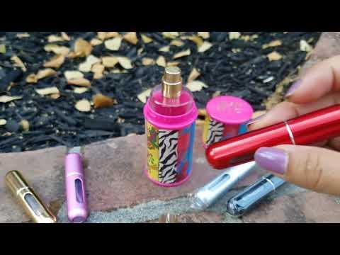 That Spade Girl Reviews: Mini Refillable Perfume Atomizer