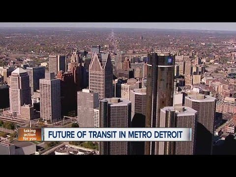 Future of transit in metro Detroit