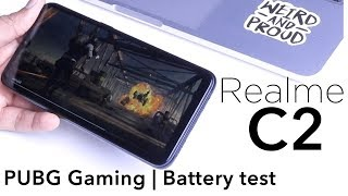 Realme C2 PUBG Game Play review, Battery test, Hindi
