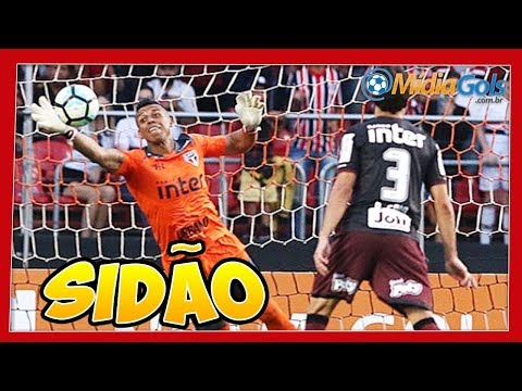 DEFESAS do Sidão - NARRADORES ENLOUQUECEM - São Paulo 1 x 0 Sport no Morumbi