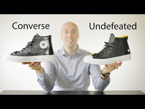 33d9c98c561d Converse Chuck Taylor All Star x Undefeated - Unboxing + Review + on feet -  Mr Stoltz 2015