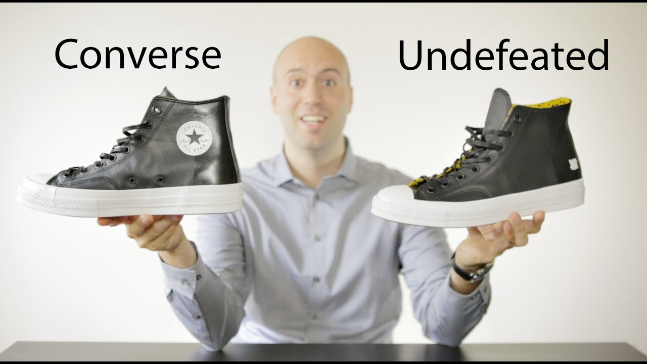 6c4cc0ef0370e2 Converse Chuck Taylor All Star x Undefeated - Unboxing + Review + on feet - Mr  Stoltz 2015