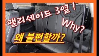 팰리세이드 대형 SUV 3열 공간은 왜 불편할까 Pal…