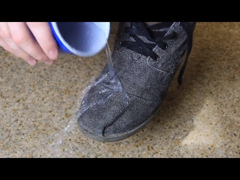 How To Make Your Shoes Waterproof Youtube
