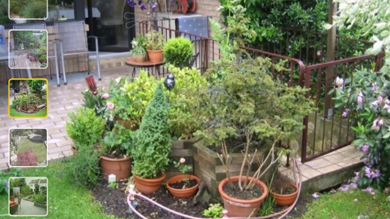 Gartengestaltung Reihenhaus YouTube