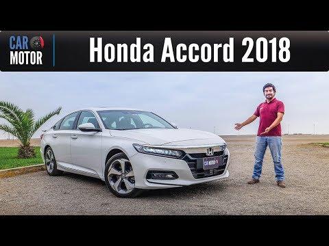Honda Accord 2018 - Más elegante y espacioso
