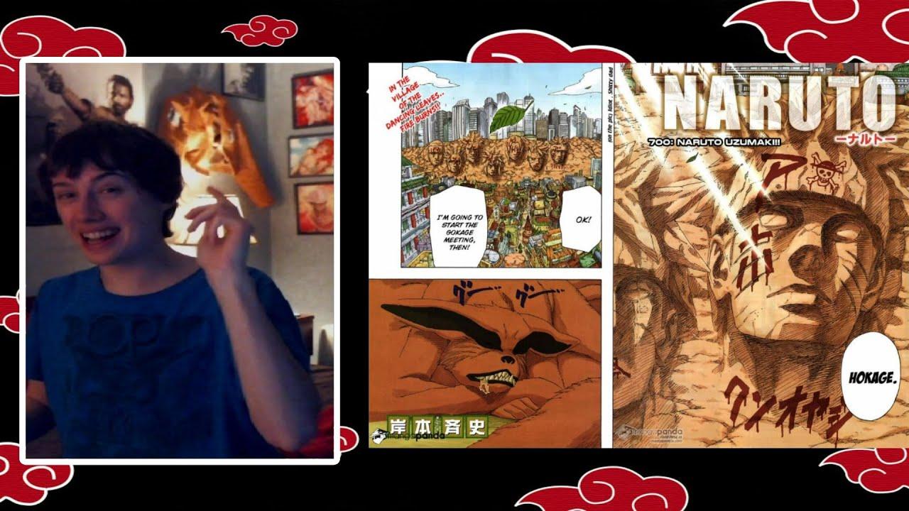 "Naruto Chapter 700 Live Reaction ""The 7th Hokage"" - YouTube"