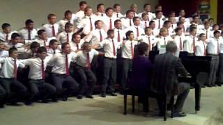 Affie boys choir preforms great.