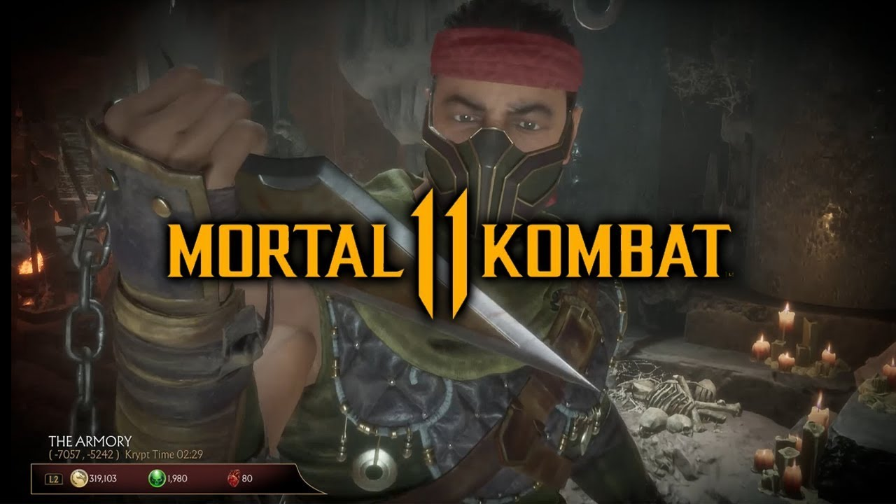 Mortal Kombat 11 Krypt - Where to Find Scorpions Spear Location (Key Item  Guide)