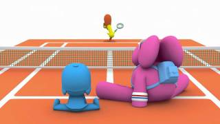 Repeat youtube video Let's Go Pocoyo ! - Tennis for Everyone (S03E12)