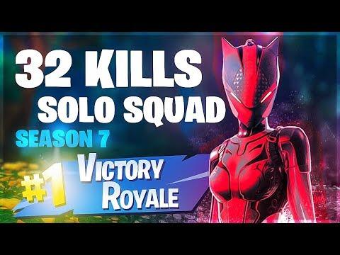 Solo Squad 32 Kill Game Season 7