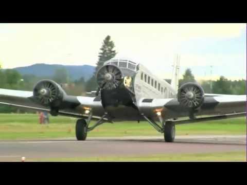 En flygning med Junkers Ju 52/3m \