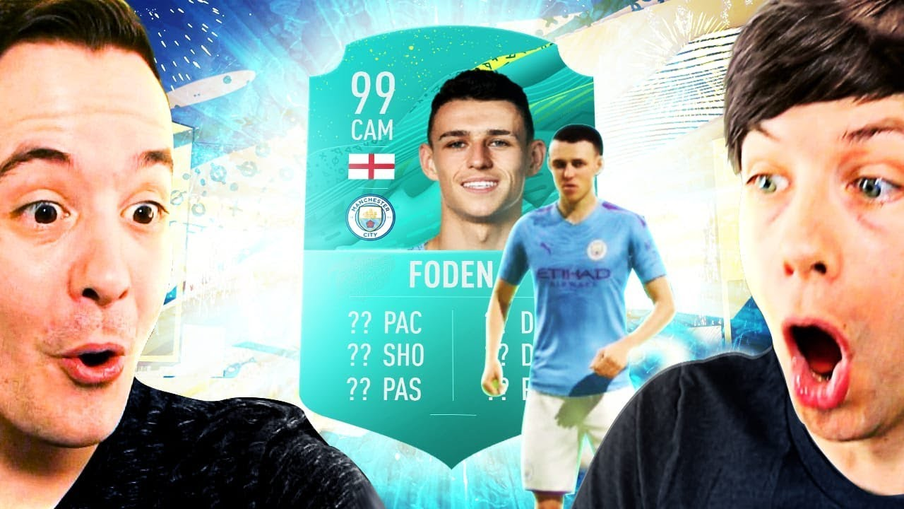PHIL FODEN SHOWS US HIS FIFA 20 ULTIMATE TEAM PRO CARD! - YouTube