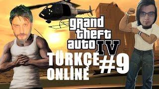 GTA 4 Türkçe Online Multiplayer | Helikopter | Bölüm 9