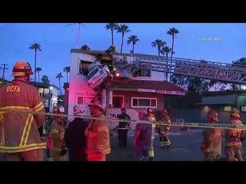 Accident insolite en Californie
