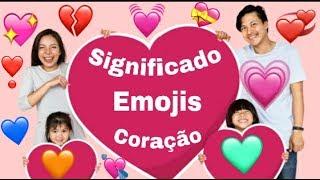 Emojis de coração significados interessantes 💔❤️💓💘💗💝❣️💖💘💛💚💙💕