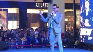 Sufian Suhaimi : Terasa Ada  live New Year Eve Concert  Miri, Sarawak