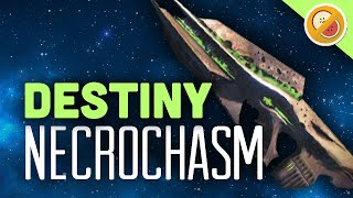 DESTINY Necrochasm Fully Upgraded Exotic Review OP (PS4 Gameplay Commentary) Funny Gaming Moments
