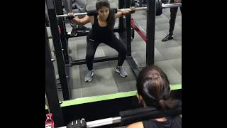 Actress Anjali Transformation Video | Anjali Gym Workout Leaked Video