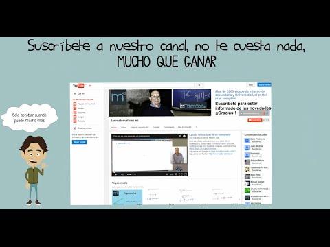 Presentación De Lasmatematicas.es En YouTube