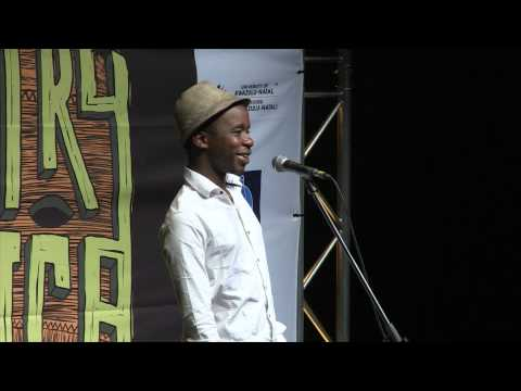 Page at POETRY AFRICA 2014