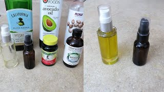 DIY Face and Body Natural Oil Mix For Glowing Skin