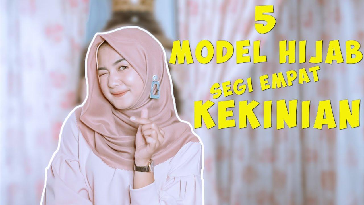 Tutorial Hijab Segi 4 Simple Tapi Mewah Youtube