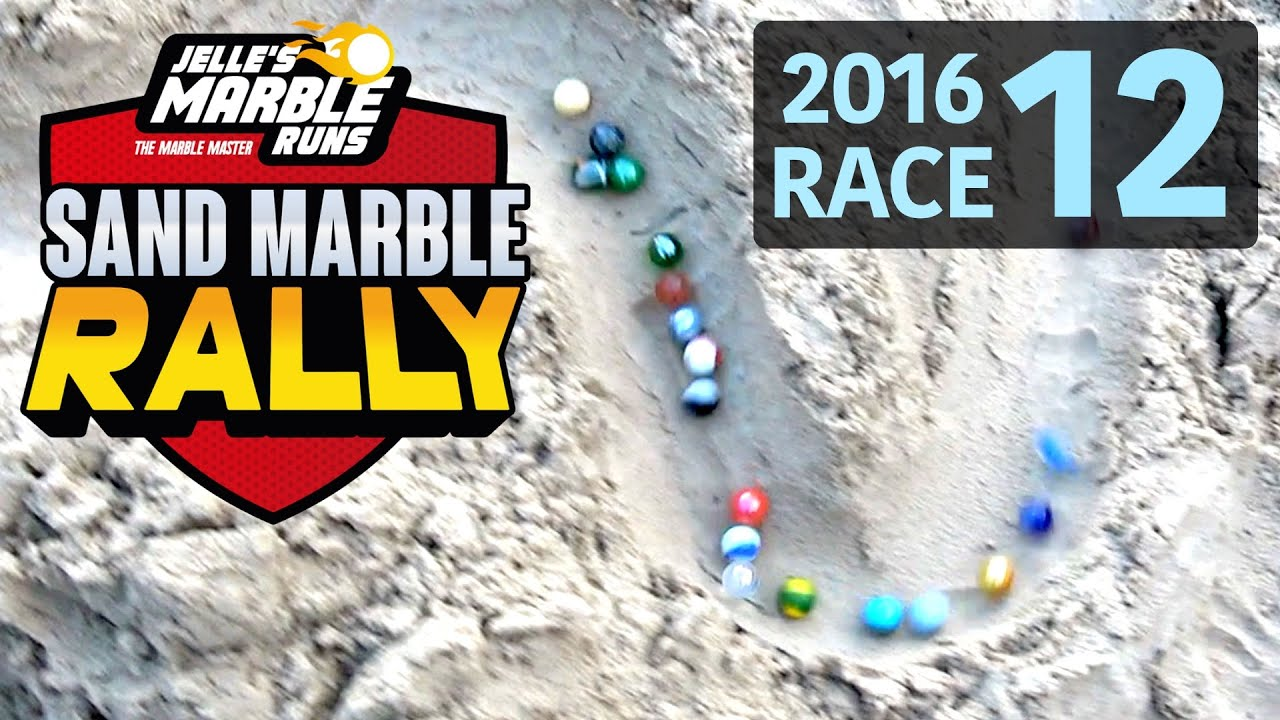 Sand Marble Rally 2016 Race 12 (FINAL) - Jelle's Marble Runs