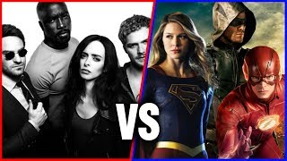 DC's Arrowverse vs. Marvel's Defenders | Rotten Tomatoes